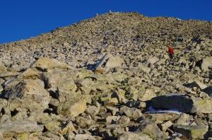 22-Sous le sommet du Turon