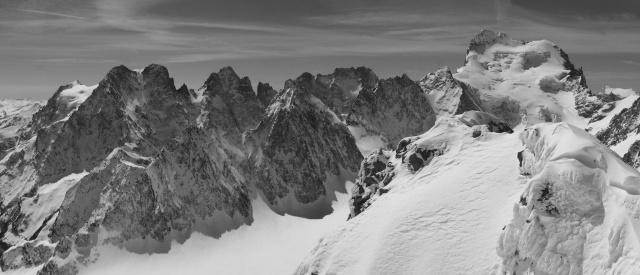 Glacier Blanc n&b